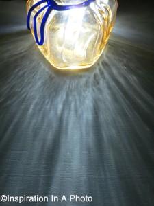 Illuminated vase