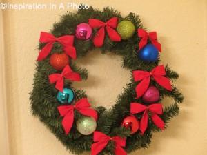 Christmas wreath 2014