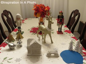 Christmas table 2014