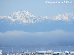 Mountains and marina