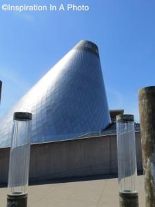 Metal museum cone