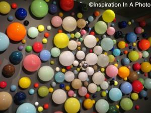 Wall of spheres