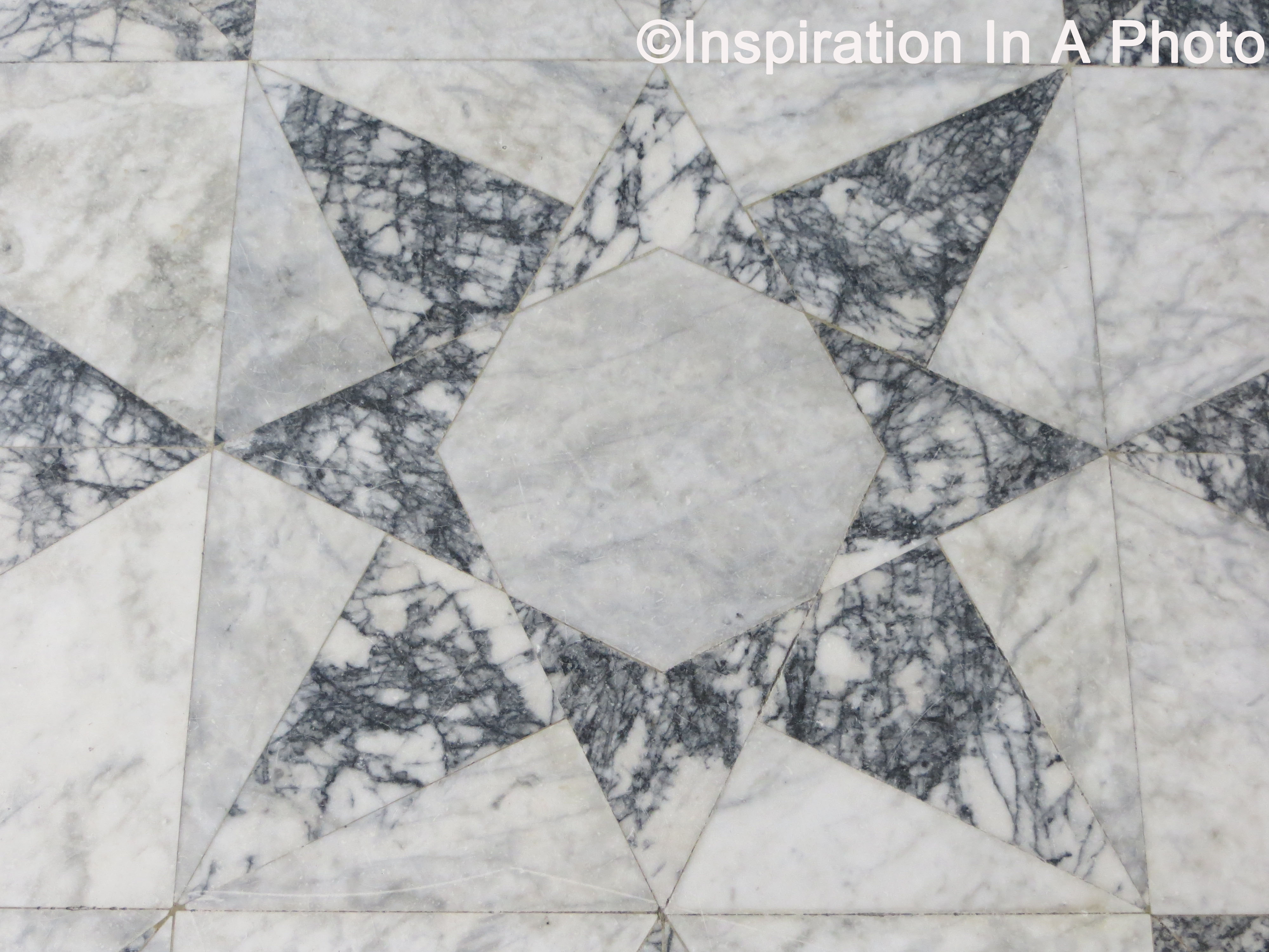Geometric Marble Floor : Geometric floors that pop inspiration in a photo