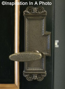 Law library door handle_interior