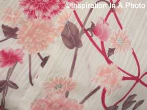 Pink summer yukata 1