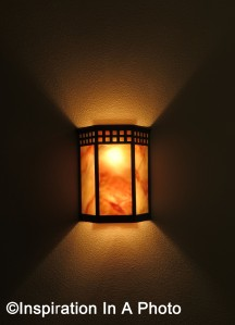 Stairwell sconce_close-up