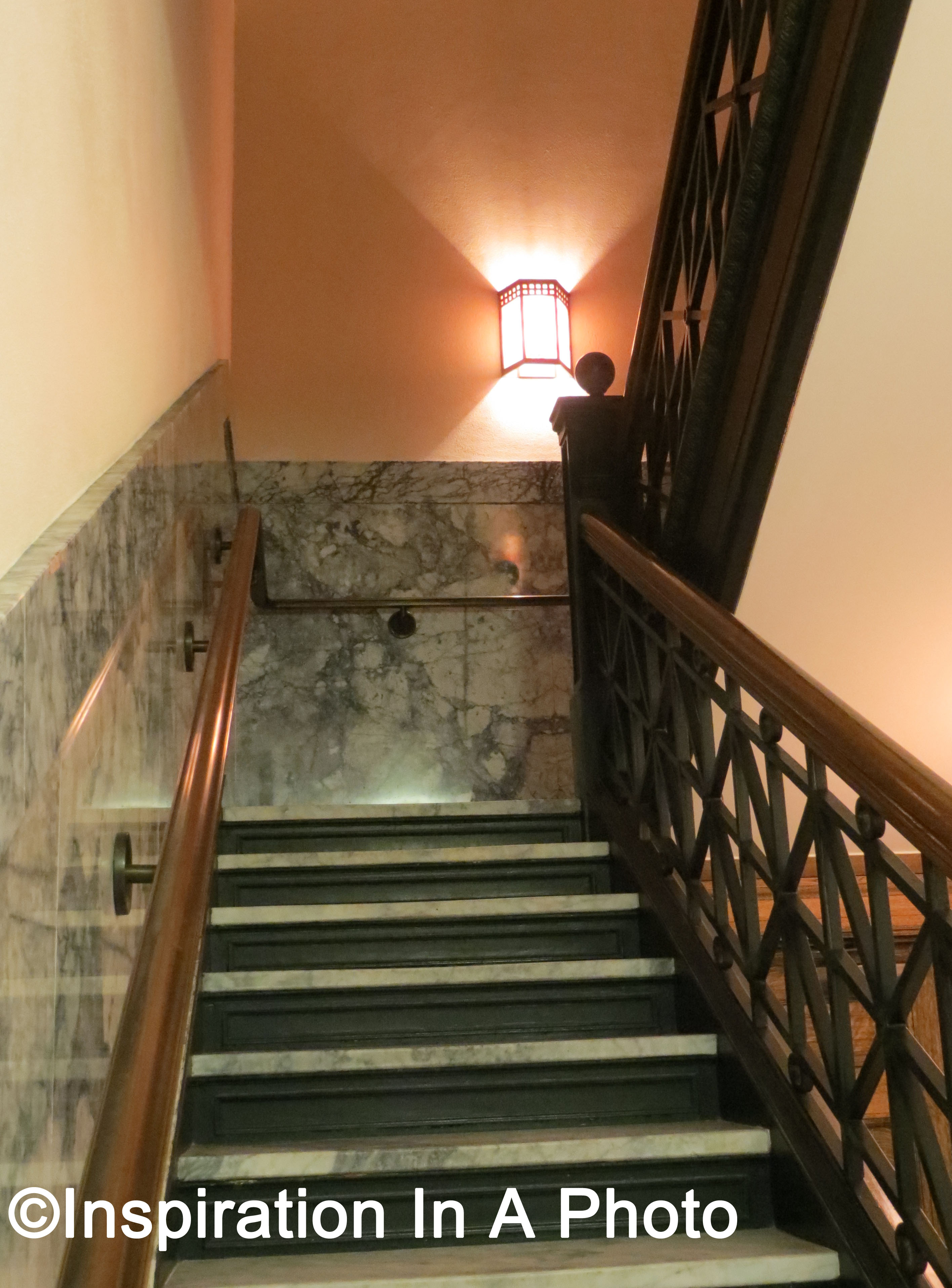 Illuminating A Stairwell With Sconces