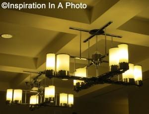 Four corners chandelier