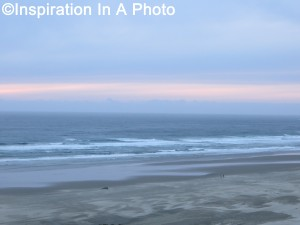 Beach at dusk_ocean