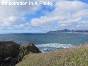 Cliffs overlooking the sea