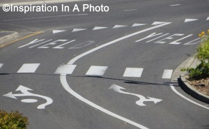 Traffic circle_road