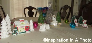 Christmas tablescape 2016